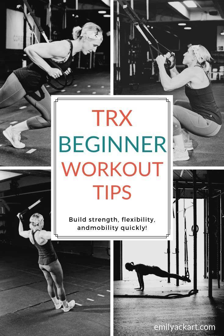TRX Beginner Workout Tips