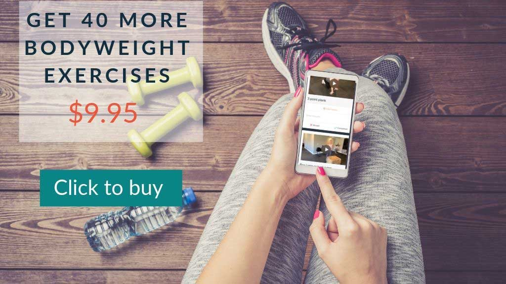 bodyweight exercise program $9.95