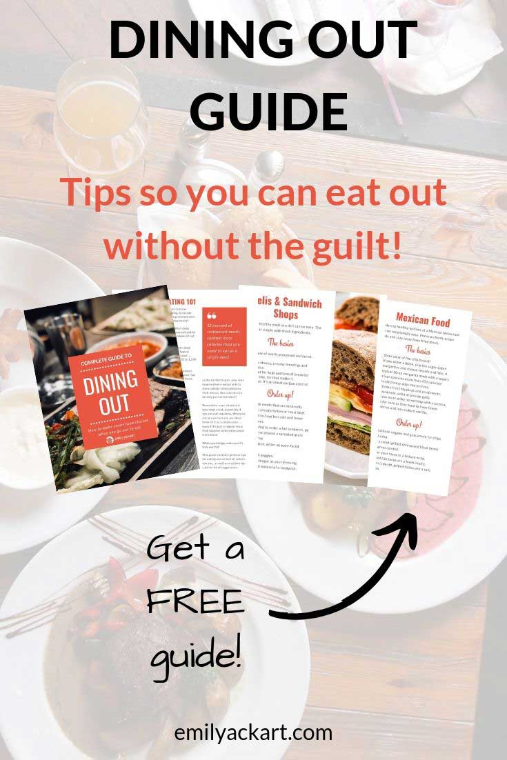 Free dining out guide
