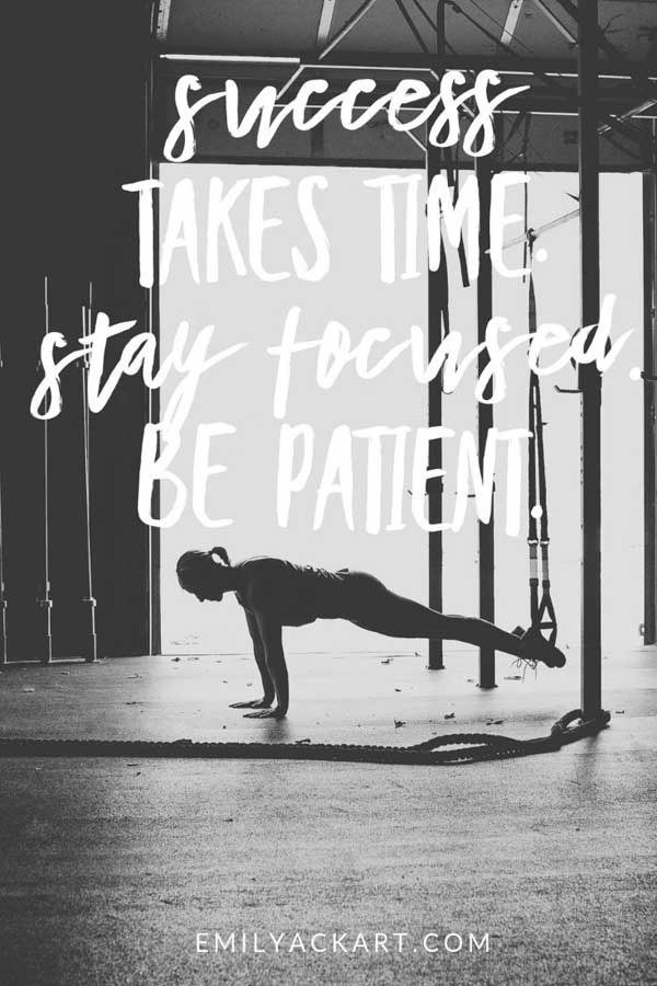 Fitness success motivational quote