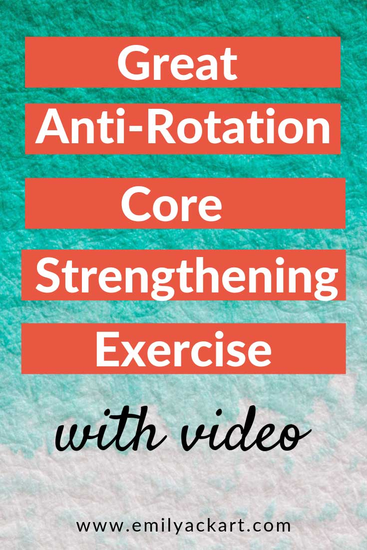 Great Anti-Rotation Core Strengthening Exercise