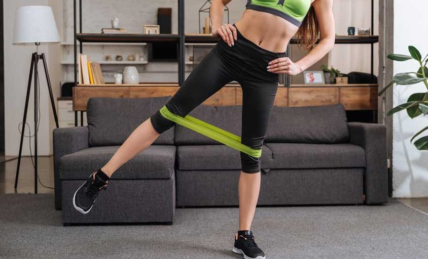 at home resistance band workout