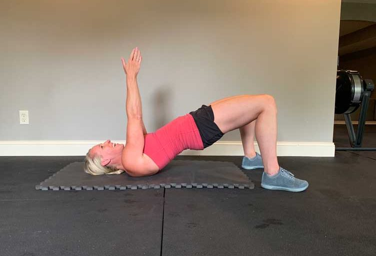 how to do a glute bridge to strengthen your core