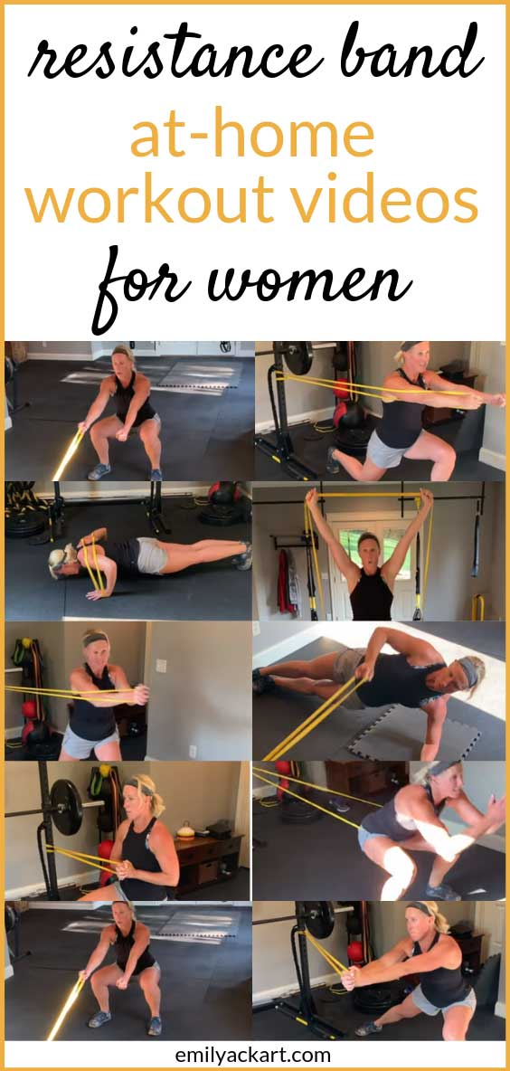 resistance band workout videos for women